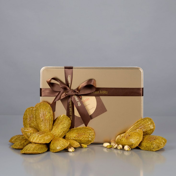 Signature Gold Gift Tin of Madeleines